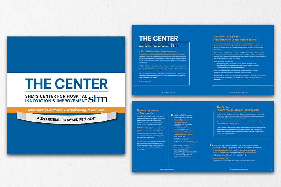 The Center Brochure