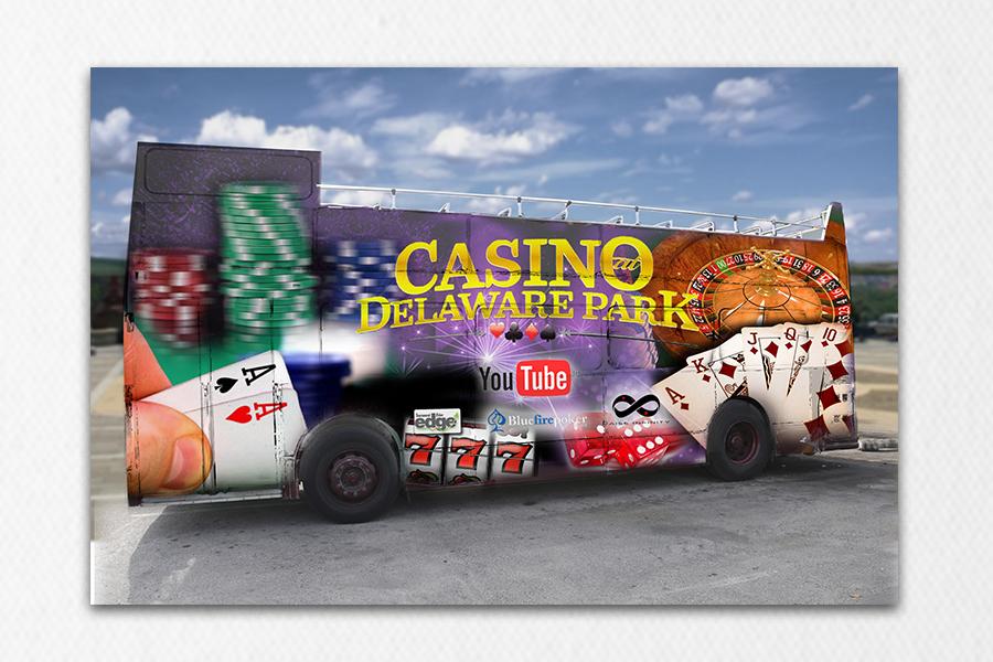 Casino Bus Wrap